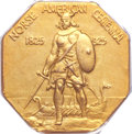 Proof Commemorative Gold, 1925 Medal Norse Gold PR66 PCGS. CAC....