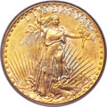 Saint-Gaudens Double Eagles, 1926-D $20 AU55 PCGS....