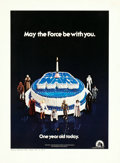 "Movie Posters:Science Fiction, Star Wars (Daily Variety, 1978). Printer's Proof Birthday Page (12""X 16.5""). From the collection of the late John L. Will..."