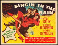 """Singin' in the Rain (MGM, 1952). Title Lobby Card and Lobby Card (11"""" X 14""""). ... (Total: 2 Items)"""