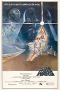 "Movie Posters:Science Fiction, Star Wars (20th Century Fox, 1977). Poster (40"" X 60"") Style A.From the collection of the late John L. Williams, notedSt..."