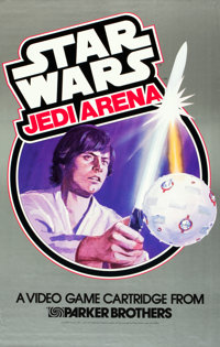 "Star Wars (Parker Brothers, 1983). Video Game Posters (2) (23"" X 34.5"" & 23"" X 36""). From th..."