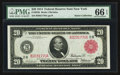 Large Size:Federal Reserve Notes, Fr. 953b $20 1914 Red Seal Federal Reserve Note PMG Gem Uncirculated 66 EPQ.. ...