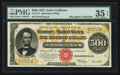 Large Size:Gold Certificates, Fr. 1217 $500 1922 Gold Certificate PMG Choice Very Fine 35 EPQ.....