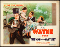 """The Man from Monterey (Warner Brothers - First National, 1933). Title Lobby Card (11"""" X 14"""")"""