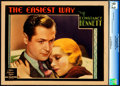 "Movie Posters:Romance, The Easiest Way (MGM, 1931). CGC Graded Lobby Card (11"" X 14"").. ..."