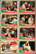 "Movie Posters:Adventure, Seven Sinners (Universal, 1940). Lobby Card Set of 8 (11"" X 14"")..... (Total: 8 Items)"