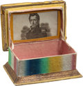 Political:3D & Other Display (pre-1896), Andrew Jackson: Desirable and Elusive Thread Box....