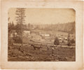 Photography:Cabinet Photos, Albumen Photograph: Brownsville, California with John Muir....