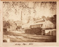 Photography:Cabinet Photos, Large Format Albumen Photograph: Saratoga Paper Mills....