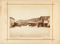 Photography:Cabinet Photos, Large Format Albumen Photograph: Bradley, California....