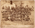 "Photography:Cabinet Photos, Imperial Albumen Photograph: ""Cambria, Wyoming Miners""...."