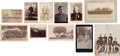Photography:Cabinet Photos, Eleven Photographs: Indian War Soldiers.... (Total: 10 Items)