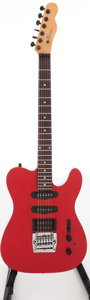 Musical Instruments:Electric Guitars, 1990s Buscarino Telstar Monarch Red Solid Body Electric Guitar,Serial # 022751C....