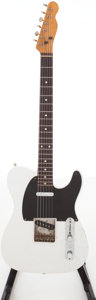 Musical Instruments:Electric Guitars, 1980s Fender Telecaster White Solid Body Electric Guitar, Serial #A02252. ...