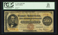 Large Size:Gold Certificates, Fr. 1215a $500 1882 Gold Certificate PCGS Apparent Fine 15.. ...