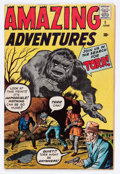Silver Age (1956-1969):Horror, Amazing Adventures #1 (Marvel, 1961) Condition: VG....