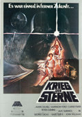 "Movie Posters:Science Fiction, Star Wars (20th Century Fox, 1978). German A00 (47"" X 66""). Fromthe collection of the late John L. Williams, noted Star W..."