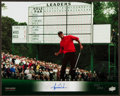 Golf Collectibles:Autographs, Tiger Woods Signed UDA Photograph....