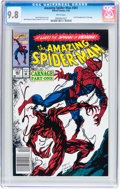 Modern Age (1980-Present):Superhero, The Amazing Spider-Man #361 (Marvel, 1992) CGC NM/MT 9.8 Whitepages....
