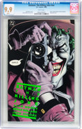 Modern Age (1980-Present):Superhero, Batman: The Killing Joke #nn (DC, 1988) CGC MT 9.9 White pages....