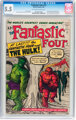 Fantastic Four #12 (Marvel, 1963) CGC FN- 5.5 Off-white to white pages