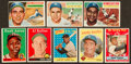 Baseball Cards:Lots, 1956 - 1959 Topps Baseball Stars & HoFers Collection (38). ...