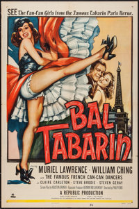 "Bal Tabarin (Republic, 1952). One Sheet (27"" X 41""). Musical"