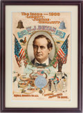 """Political:Posters & Broadsides (1896-present), William Jennings Bryan: The Iconic """"Bryan Octopus"""" Poster from the 1900 Election. ..."""