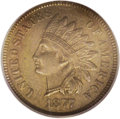 Indian Cents: , 1877 1C AU55 PCGS. Eagle Eye Photo Seal. This key date should garner numerous bids from collectors who are assembling sets ...