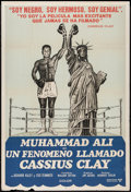 "Movie Posters:Sports, Muhammad Ali a.k.a. Cassius Clay (United Artists, 1970). Argentinean Poster (29"" X 43""). Sports.. ..."