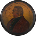 Political:3D & Other Display (pre-1896), Zachary Taylor: Colorful Presidential Snuffbox....
