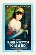 "Movie Posters:Comedy, Kissed (Universal, 1922). One Sheet (27.5"" X 41.5"").. ..."