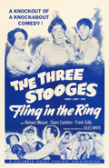 "Movie Posters:Comedy, Fling in the Ring (Columbia, 1955). One Sheet (27"" X 41"").. ..."