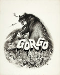 "Movie Posters:Science Fiction, Gorgo (MGM, 1961). Joseph Smith Original Movie Poster Art (19"" X24"").. ..."