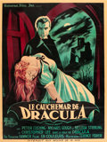 "Movie Posters:Horror, Horror of Dracula (Universal Film, Inc., 1958). French Grande (47""X 63"").. ..."