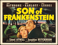 "Son of Frankenstein (Universal, 1939). Title Lobby Card (11"" X 14"")"