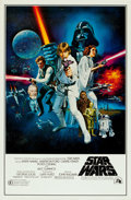 "Movie Posters:Science Fiction, Star Wars (20th Century Fox, 1977). One Sheet (27"" X 41"") Style CWith Rating Box. From the collection of the late John L...."
