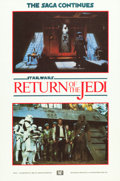 "Movie Posters:Science Fiction, Return of the Jedi (20th Century Fox, 1983). British Double Crown(4) (20"" X 30""). From the collection of the late John L....(Total: 4 Items)"