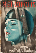 "Movie Posters:Science Fiction, Metropolis (August Scherl, Berlin, 1926). German Paperback EditionPhotoplay Book (5"" x 7.25"", 196 Pages).. ..."