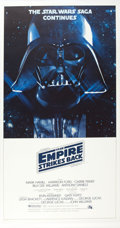 """Movie Posters:Science Fiction, The Empire Strikes Back (20th Century Fox, 1980). InternationalThree Sheet (41.25"""" X 77""""). From the collection of thelat..."""