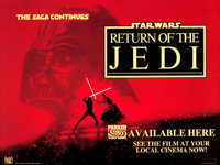 "Return of the Jedi (Parker Brothers, 1983). British Quad (30"" X 40""). From the collection of the late John L..."