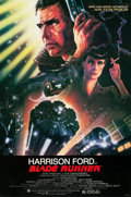"Movie Posters:Science Fiction, Blade Runner (Warner Brothers, 1982). Autographed One Sheet (27"" X41"").. ..."