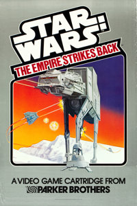 "The Empire Strikes Back (Parker Brothers, 1982). Video Game Poster (24"" X 36""). From the collection of the lat..."