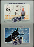 """Movie Posters:Science Fiction, The Empire Strikes Back (20th Century Fox, 1980). ItalianPhotobusta Set of 12 (18.5"""" X 26.5""""). From the collection ofthe... (Total: 12 Items)"""