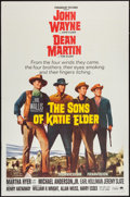 """Movie Posters:Western, The Sons of Katie Elder (Paramount, 1965). One Sheet (27"""" X 41""""). Western.. ..."""