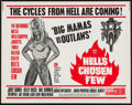 """Movie Posters:Exploitation, Hell's Chosen Few (American General Pictures, Inc., 1968). HalfSheet (22"""" X 28""""). Exploitation.. ..."""