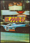"Movie Posters:Sports, Le Mans (National General, 1971). Czech Poster (11"" X 16""). Sports.. ..."