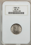 Liberty Nickels: , 1900 5C MS64 NGC. NGC Census: (299/203). PCGS Population (326/196).Mintage: 27,255,996. Numismedia Wsl. Price for problem ...