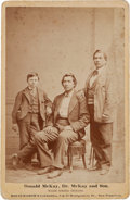 Photography:Cabinet Photos, Albumen Cabinet Card: Donald McKay, Half-Breed Modoc Indian Scout....
